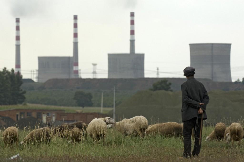 Yunfengin ydinvoimala Kiinassa. Greenpeace / Simon Lim.