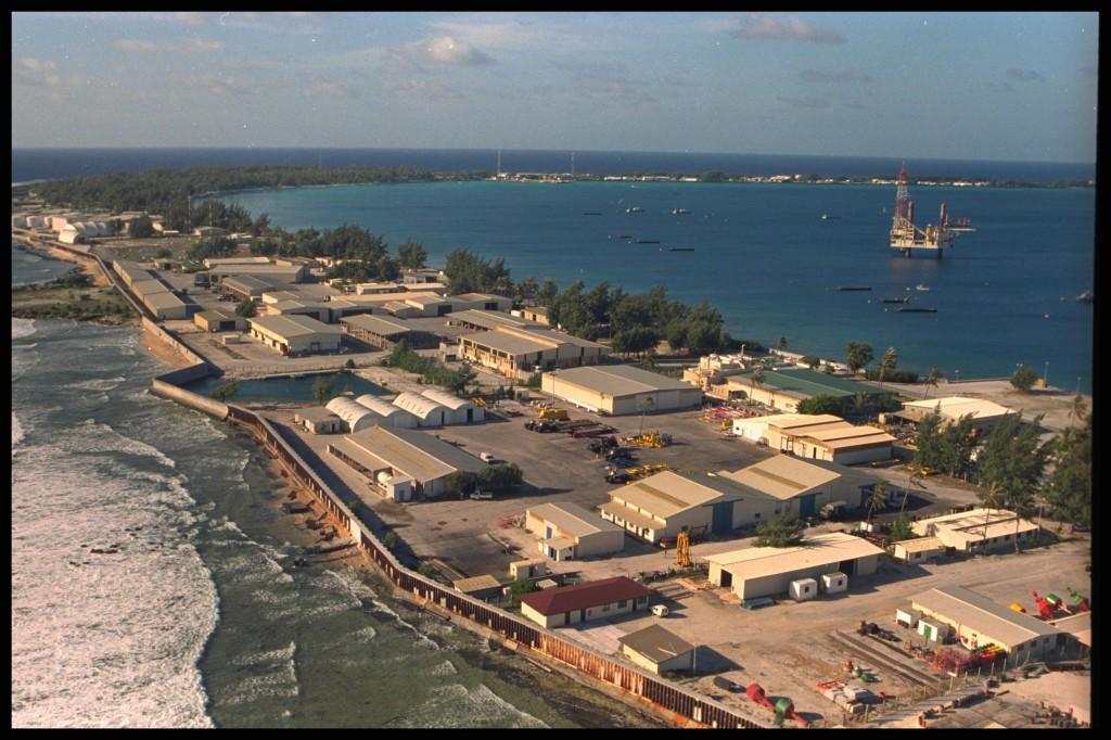 Ranskan hallitus testasi ydinaseitaan Mururoan atollilla 1990-luvulla. Greenpeace / Daniel Beltrá.